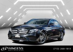 Mercedes-Benz E-Class Sport Panorama Parktronic Blind Spot AMG Wheels. MSRP $66880! 2018