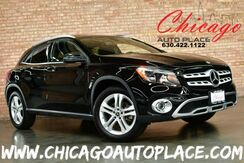 2018_Mercedes-Benz_GLA_250 4MATIC - 2.0L I4 TURBO ENGINE ALL WHEEL DRIVE BLACK LEATHER HEATED SEATS NAVIGATION BACKUP CAMERA PANORAMIC ROOF KEYLESS GO BLUETOOTH POWER LIFTGATE_ Bensenville IL