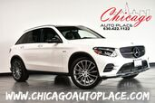 2018 Mercedes-Benz GLC AMG GLC 43 - 3.0L BITURBO ENHANCED V6 ENGINE ALL WHEEL DRIVE NAVIGATION TOP VIEW CAMERAS PANO ROOF BLACK LEATHER W/RED STITCHING HEATED SEATS