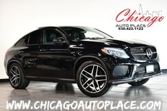 2018_Mercedes-Benz_GLE_AMG GLE 43 - 3.0L V6 BITURBO ENGINE ALL WHEEL DRIVE NAVIGATION TOP VIEW CAMERAS BLACK LEATHER HEATED/COOLED SEATS PANO ROOF_ Bensenville IL