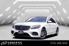 2018_Mercedes-Benz_S-Class_S 450 Sport Sedan Low Miles Warranty._ Houston TX
