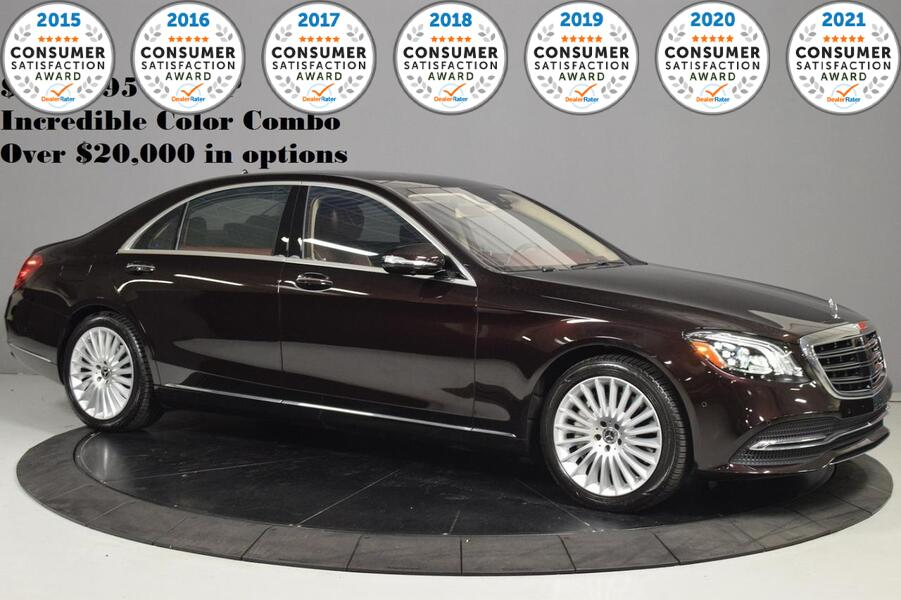 2018_Mercedes-Benz_S-Class_S 560_ Glendale Heights IL