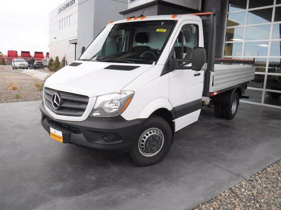 2018 Mercedes-Benz Sprinter Cab Chassis Dually Flatbed Cab & Chassis 144
