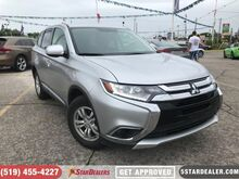 2018_Mitsubishi_Outlander_ES   1 OWNER   4X4   CAM   HEATED SEATS_ London ON