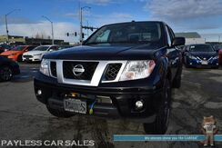 2018_Nissan_Frontier_PRO-4X / 4X4 / 6-Spd Manual / Crew Cab / Heated Seats / Navigation / Rockford Fosgate Speakers & Subwoofer / Bluetooth / Back Up Camera / Bed Liner / Tonneau Cover / Block Heater / Tow Pkg / Only 9k Miles / 1-Owner_ Anchorage AK