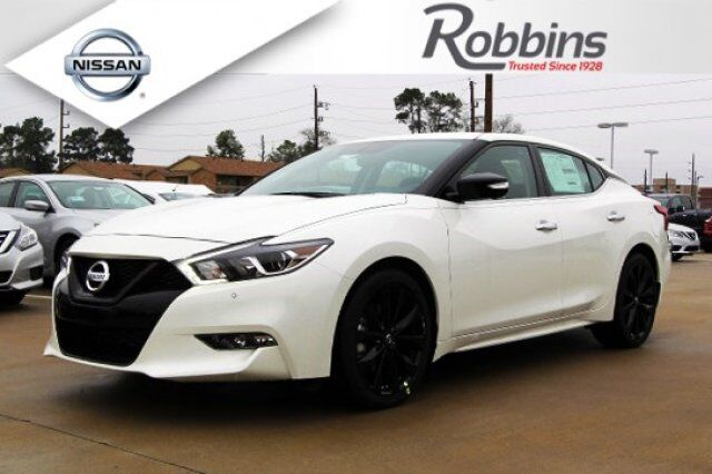 2018 Nissan Maxima Sr Midnight Edition Humble Tx 22034881