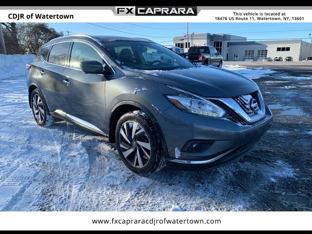 2018 Nissan Murano Platinum Watertown NY