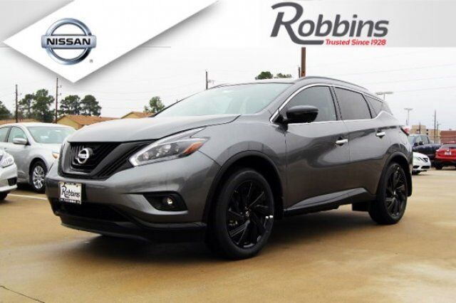 2018 Nissan Murano Sl Midnight Edition Humble Tx 22167197