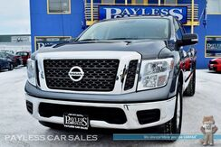 2018_Nissan_Titan_SV / 4X4 / Crew Cab / 5.6L V8 / Bluetooth / Push Button Start / Back Up Camera / Seats 6 / Bed Liner / Tow Pkg / 1-Owner_ Anchorage AK
