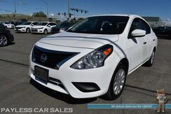 2018_Nissan_Versa Sedan_SV / Automatic / Cruise Control / USB & Aux Jacks / Power Windows & Locks / Air Conditioning / 39 MPG / 1-Owner_ Anchorage AK