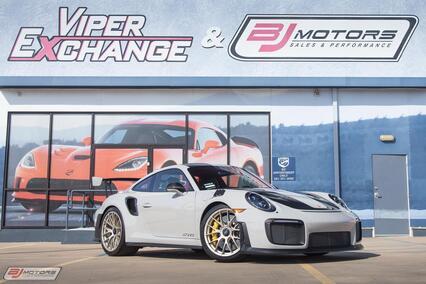 2018 Porsche 911 GT2RS Weissach Tomball TX