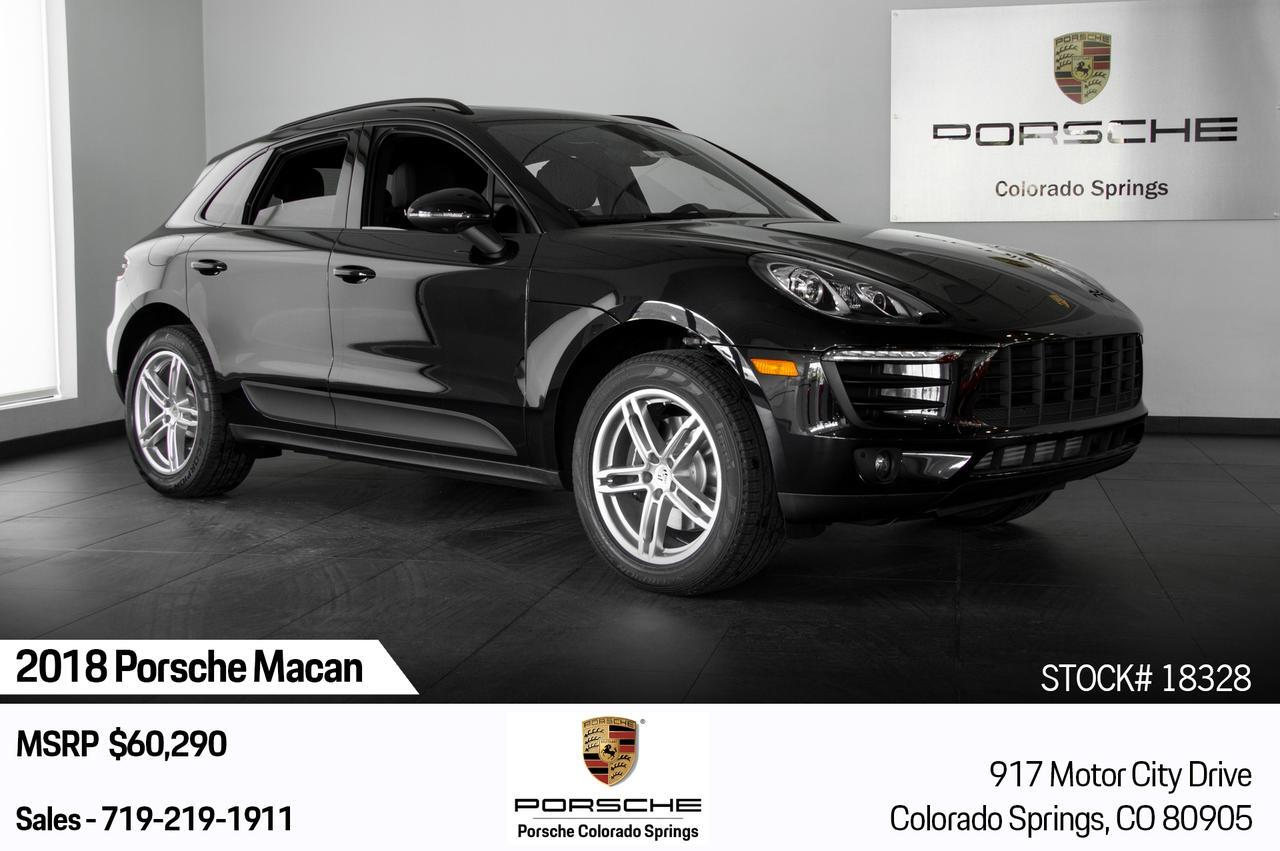 Vehicle Details 2018 Porsche Macan At Porsche Colorado Springs