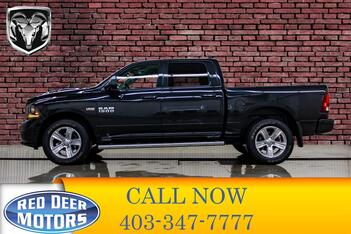 2018_Ram_1500_4x4 Crew Cab Sport Leather Nav BCam_ Red Deer AB