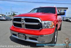2018_Ram_1500_SLT / 4X4 / Crew Cab / 5.7L V8 HEMI / Seats 6 / Bluetooth / Power Sliding Rear Window / Cruise Control / Aux & USB Jacks / Bed Liner / 1-Owner_ Anchorage AK