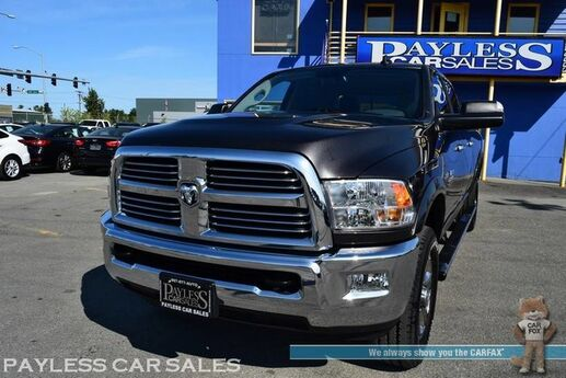 2018 Ram 2500 Big Horn / 4X4 / Crew Cab / 6.4L V8 HEMI / Automatic / Off-Road Pkg / Sunroof / Auto Start / Alpine Speakers / Back Up Camera / Bed Liner / Tonneau Cover / Tow Pkg / Only 3k Miles / 1-Owner Anchorage AK