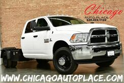 2018_Ram_3500 Chassis Crew Cab_Tradesman DRW - 4WD 6.7L I6 CUMMINS TURBO DIESEL ENGINE 1 OWNER GRAY LEATHER INTERIOR 6 PASSENGER SEATING_ Bensenville IL