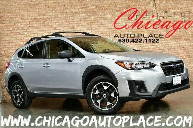 2018 Subaru Crosstrek 2.0L 4-CYL ENGINE CVT TRANSMISSION ALL WHEEL DRIVE 1 OWNER 2-TONE GRAY CLOTH INTERIOR BACKUP CAMERA BLUETOOTH CLIMATE CONTROL Bensenville IL