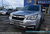 2018 Subaru Forester Premium / AWD / Eye Sight Pkg / Power & Heated Seats / Panoramic Sunroof / Adaptive Cruise / Lane Depart & Blind Spot Alert / Bluetooth / Back Up Camera / 32 MPG / 1-Owner