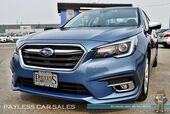 2018 Subaru Legacy Limited / 50th Anniversary Edition / AWD / Eye Sight Pkg / Front & Rear Heated Leather Seats / Navigation / Harman Kardon Speakers / Sunroof / Bluetooth / Back Up Camera / Active Cruise / Blind Spot / 34 MPG / 1-Owner