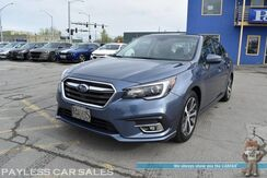 2018_Subaru_Legacy_Limited / AWD / Eye Sight Pkg / Heated Leather Seats / Navigation / Sunroof / Harman Kardon Speakers / Blind Spot & Lane Departure Alert / Adaptive Cruise / Bluetooth / Back Up Camera / 34 MPG_ Anchorage AK