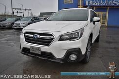 2018_Subaru_Outback_3.6R Limited / AWD / Eye Sight Pkg / Front & Rear Heated Leather Seats / Navigation / Sunroof / Harman Kardon Speakers / Back Up Camera / Blind Spot & Lane Assist / Active Cruise / Keyless Start_ Anchorage AK