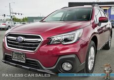 2018_Subaru_Outback_Premium / AWD / Automatic / Power & Heated Seats / Eye Sight Pkg / Blind Spot Assist / Adaptive Cruise Control / Bluetooth / Back-Up Camera / 32 MPG / Low Miles / 1-Owner_ Anchorage AK