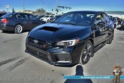 2018_Subaru_WRX_STI / AWD / 6-Spd Manual / Heated Alcantara Seats / Bluetooth / Back Up Camera / Cruise Control / PERRIN Rear Spoiler / Only 7k Miles / 1-Owner_ Anchorage AK