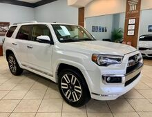 2018_Toyota_4Runner_LIMITED 3RD ROW SEATING  4WD PEARL WHITE AND RED ROSSO INTERIOR_ Charlotte NC