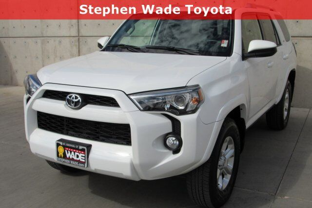 Vehicle Details 2018 Toyota 4runner At Stephen Wade Mazda St George