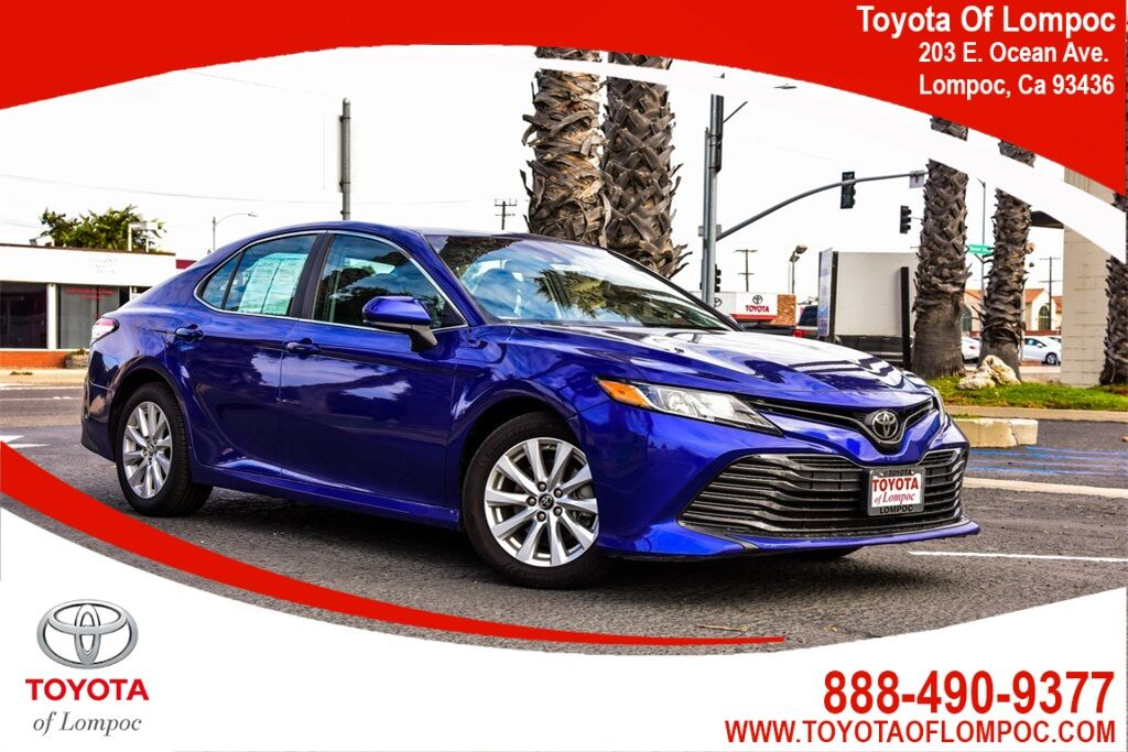 2018 Toyota Camry LE Lompoc CA
