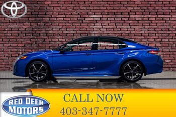 2018_Toyota_Camry_XSE Leather Roof BCam_ Red Deer AB