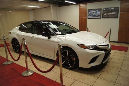 2018 Toyota Camry XSE WITH ROSSO RED INTERIOR Charlotte NC