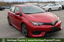 2018 Toyota Corolla iM  South Burlington VT