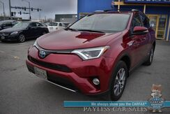 2018_Toyota_RAV4_Hybrid XLE / AWD / Keyless Entry & Start / Lane Departure Alert / Sunroof / Bluetooth / Back Up Camera / Cruise Control / 34 MPG / 1-Owner_ Anchorage AK