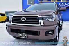 2018_Toyota_Sequoia_SR5 / 4X4 / Automatic / Power Driver's Seat / Sunroof / Bluetooth / Back-Up Camera / Blind Spot Monitor / 3rd Row / Seats 8 / Tow Pkg / 1-Owner_ Anchorage AK