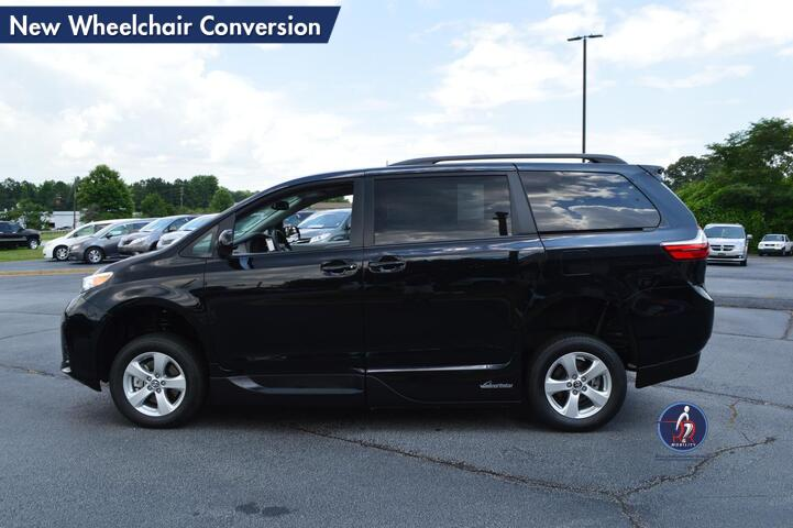 2018 Toyota Sienna LE New Wheelchair Conversion Conyers GA