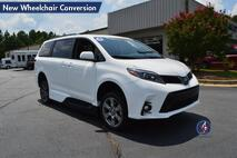 2018 Toyota Sienna SE New Wheelchair Conversion Conyers GA