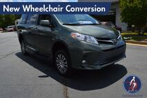 2018 Toyota Sienna XLE-Navigation New Wheelchair Conversion Conyers GA