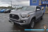 2018 Toyota Tacoma SR5 / 4X4 / Double Cab / Automatic / Bluetooth / Back Up Camera / Lane Departure & Collision Alert / Cruise Control / Bed Liner / Running Boards / Alloy Wheels / Tow Pkg