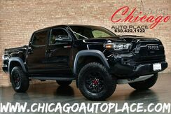 2018_Toyota_Tacoma_TRD Pro DOUBLE CAB - 3.5L V6 CYLINDER ENGINE 4 WHEEL DRIVE 6-SPEED MANUAL NAVIGATION BACKUP CAMERA BLACK LEATHER HEATED SEATS WIRELESS PHONE CHARGING ACTIVE BLINDSPOT MONITOR_ Bensenville IL