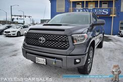 2018_Toyota_Tundra_SR5 / TRD Sport / 4X4 / CrewMax / SR5 Upgrade & Convenience Pkg / Navigation / Bluetooth / Back Up Camera / Blind Spot & Lane Departure Alert / Dynamic Cruise Control / Tow Pkg / Block Heater / Low Miles / 1-Owner_ Anchorage AK