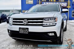 2018_Volkswagen_Atlas_SE / 4Motion AWD / 3.6L V6 / Power & Heated Leather Seats / 3rd Row / Seats 7 / Bluetooth / Back Up Camera / Luggage Rack / 1-Owner_ Anchorage AK