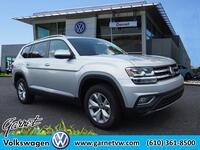 Volkswagen Atlas V6 SEL 4Motion w/Capts Chairs 2018