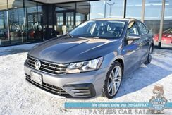 2018_Volkswagen_Passat_R-Line / Driver's Assist Pkg / Automatic / Heated Leather Seats / Adaptive Cruise Control / Blind Spot Alert / Apple CarPlay & Android Auto / Bluetooth / Back Up Camera / 36 MPG / 1-Owner_ Anchorage AK