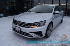 2018_Volkswagen_Passat_R-Line / Heated Leather Seats / Adaptive Cruise Control / Blind Spot Alert / Bluetooth / Back Up Camera / 36 MPG / 1-Owner_ Anchorage AK
