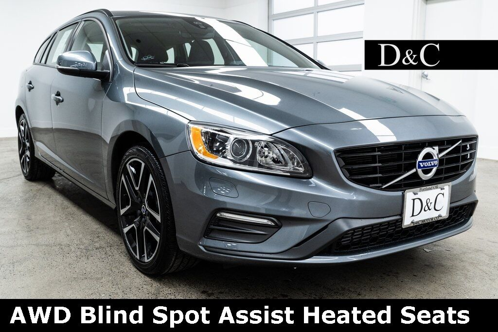 2018 Volvo V60 T5 Dynamic Awd Blind Spot Ist Heated Seats Portland Or