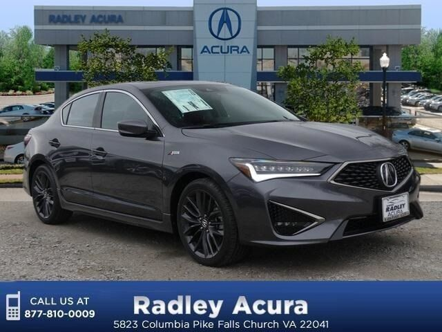 Acura Tlx Hybrid >> 2019 Acura ILX Technology and A-Spec Package Falls Church ...