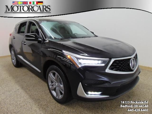 2019 Acura Rdx W Advance Pkg Bedford Oh 27501555