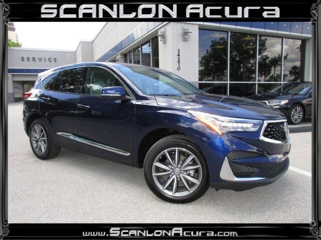 Vehicle Details 2019 Acura Rdx At Scanlon Acura Fort Myers