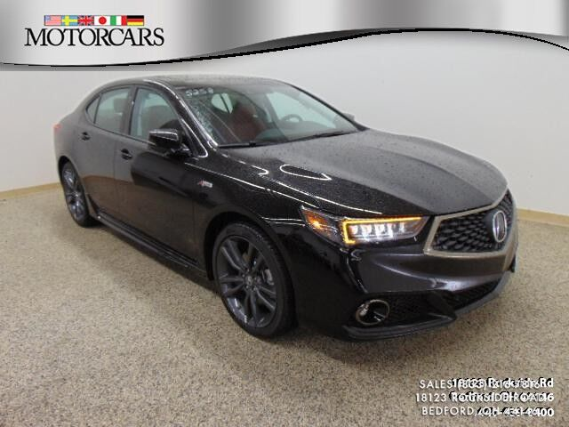 2019 Acura Tlx W A Spec Pkg Red Leather Bedford Oh 26258253